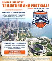 Homecoming Football Game in Chicago
