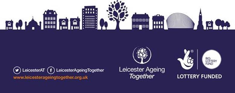 Leicester Ageing Together logo