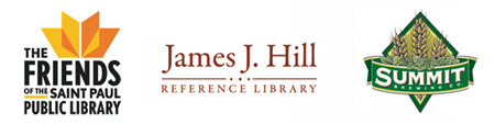 Presented and sponsored by The Friends, J.J. Hill Library and Summit Brewing Co.