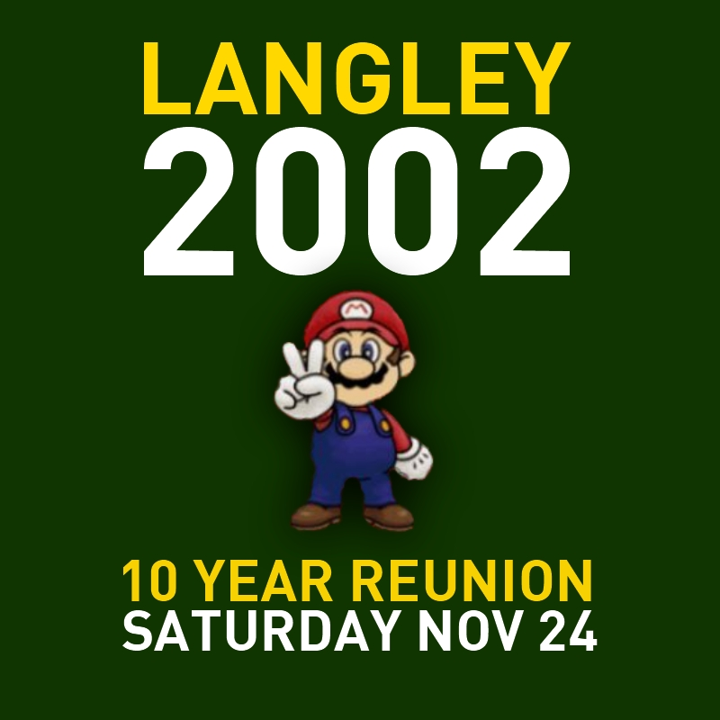 Langley High School Class of 2002 Reunion, November 24th 2012 at City Tavern Club in Georgetown, Washington DC