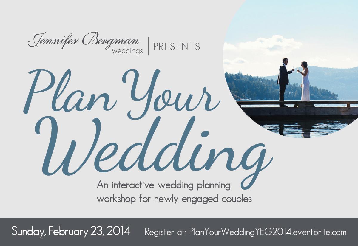 Edmonton Wedding Planning Workshop