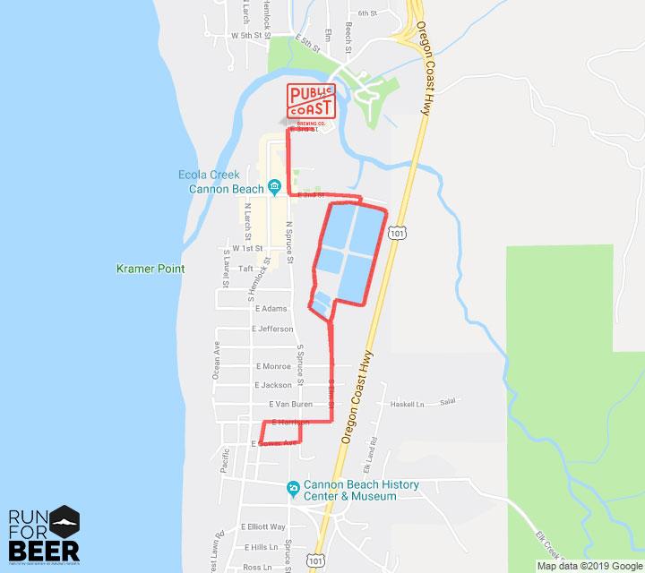 5k fun run route