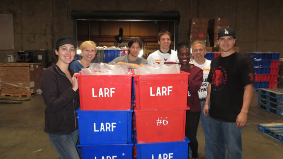 LA Tasters at the LA Food Bank