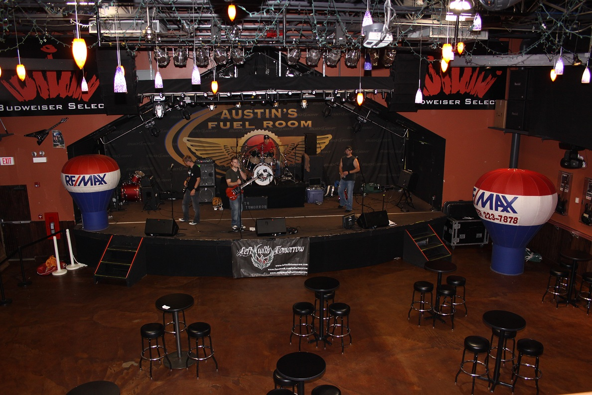 Stage for Bands