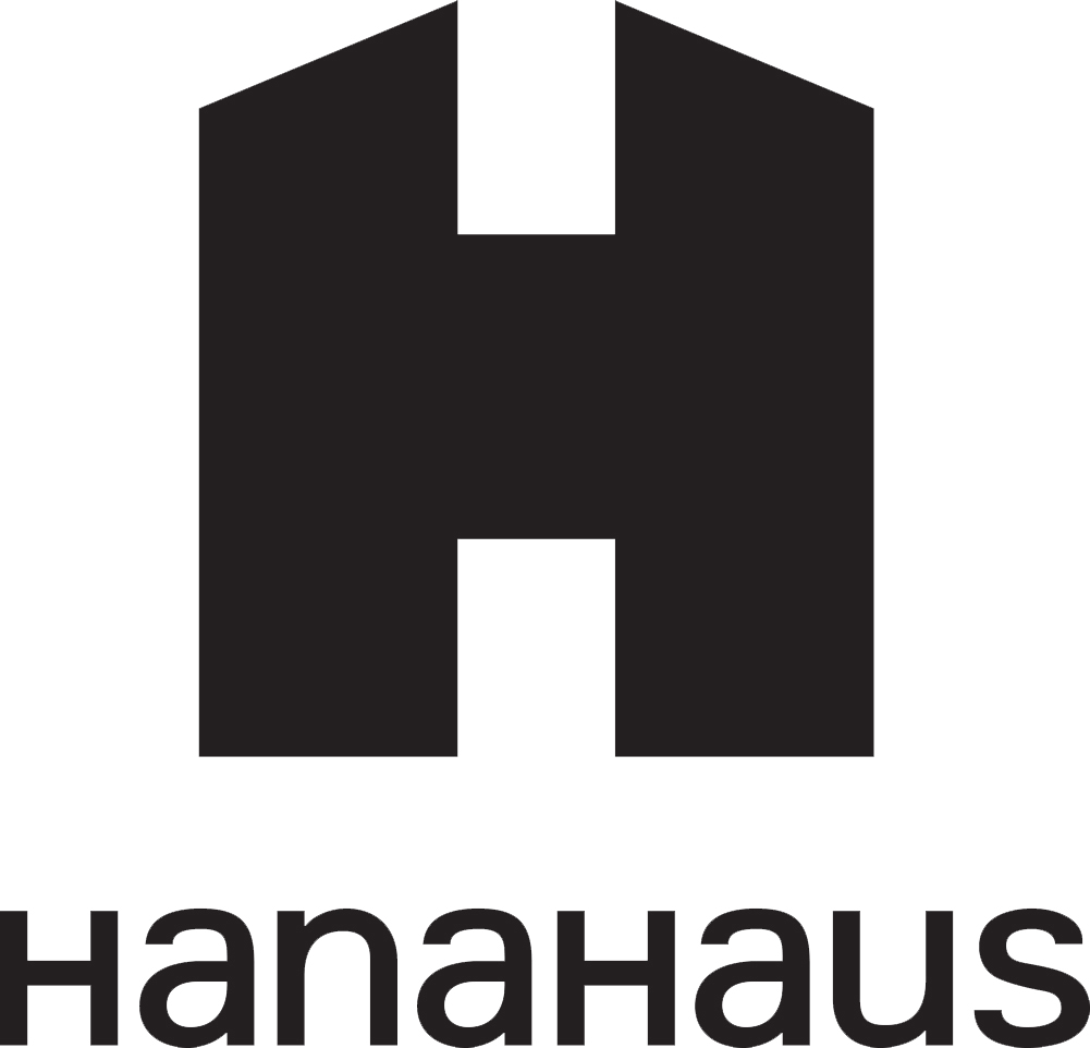 Hanahaus logo black no background