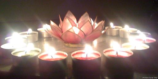 Healing Candle Light Vortex