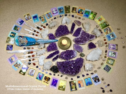 Crystal Healing Portal Matrix