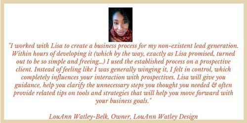 Lou Ann Watley Review