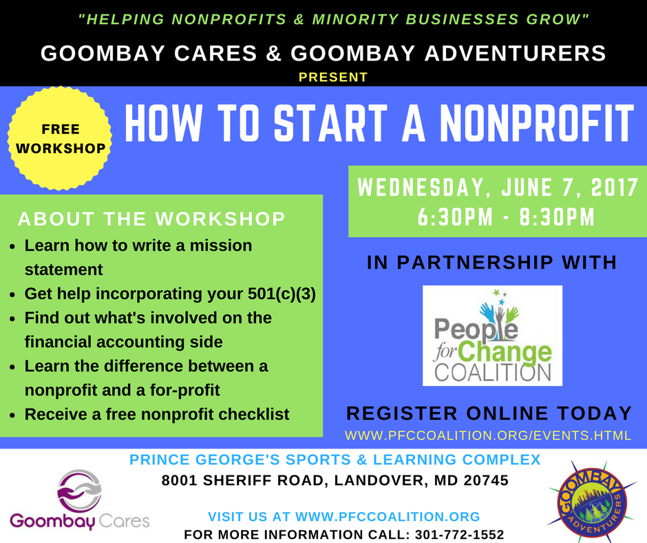 FREE Workshop - How to Start a Nonprofit Tickets, Wed, Jun 7, 2017 ...