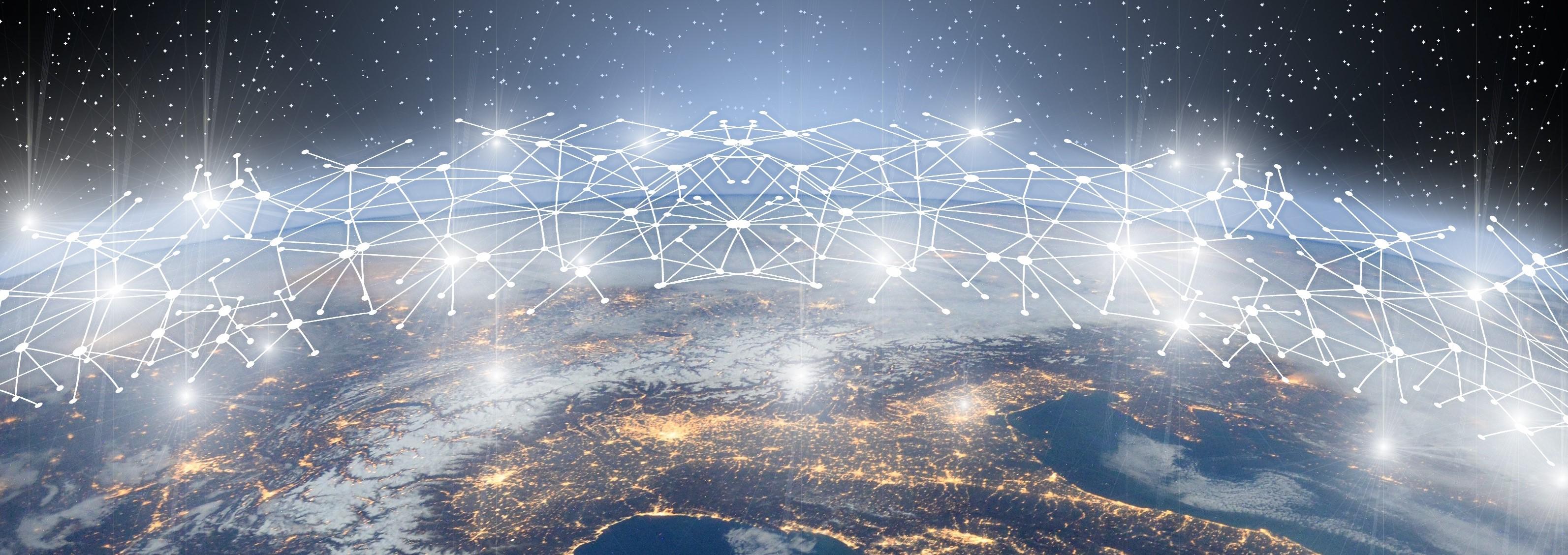 Network across the world