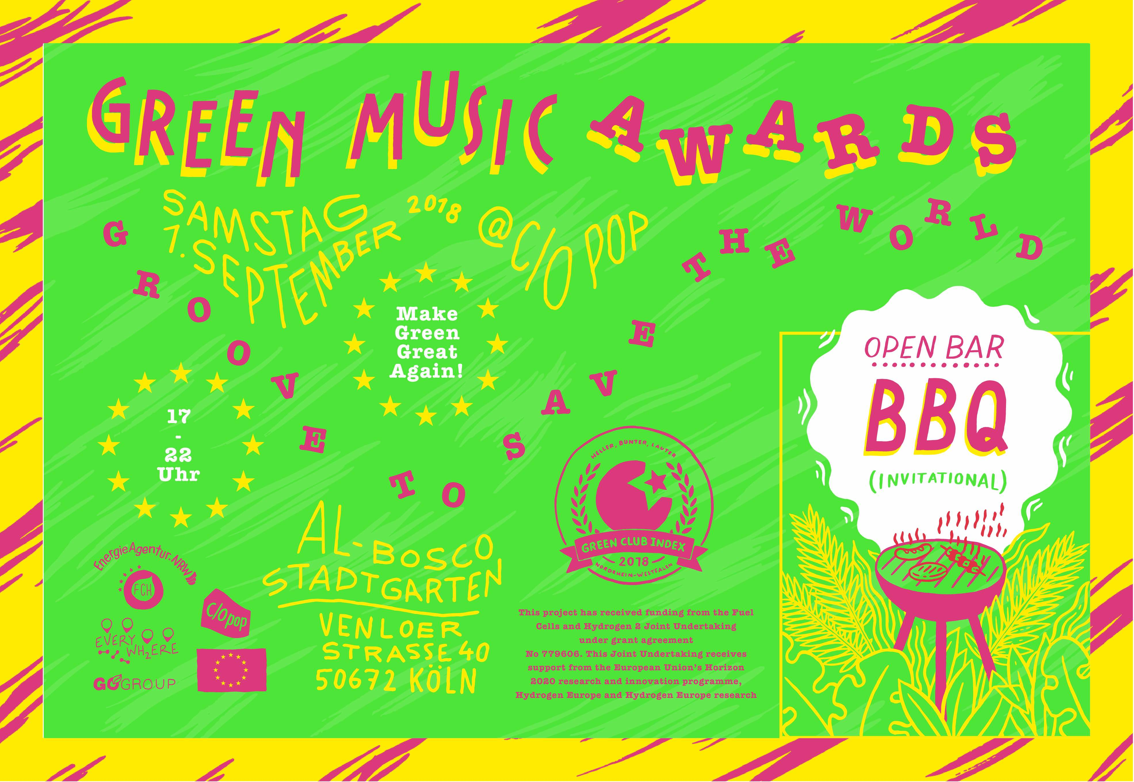 Green Music Awards 2018
