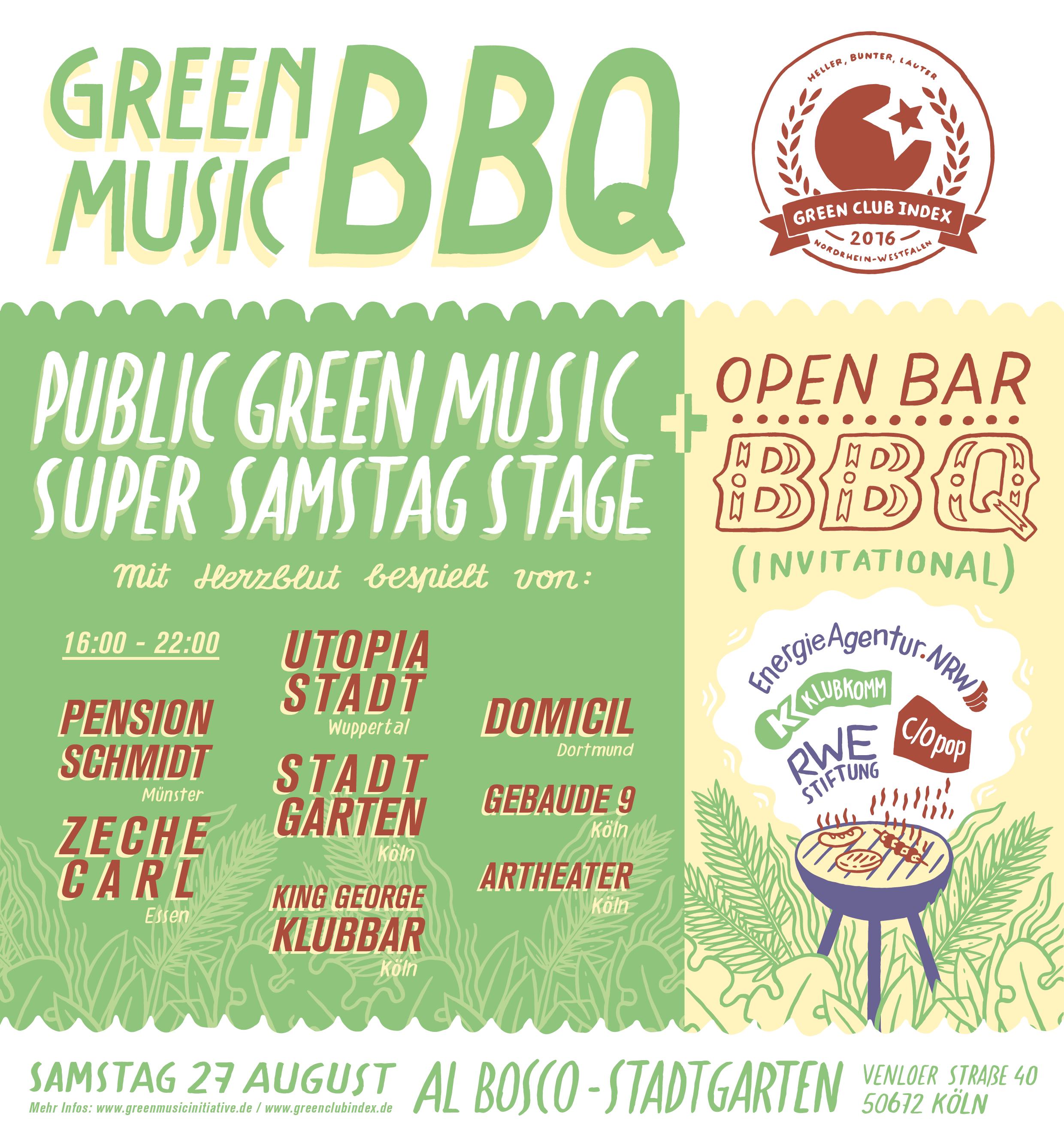 Green Music BBQ 2016