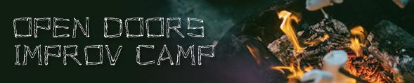 Open Doors Improv Camp- header image