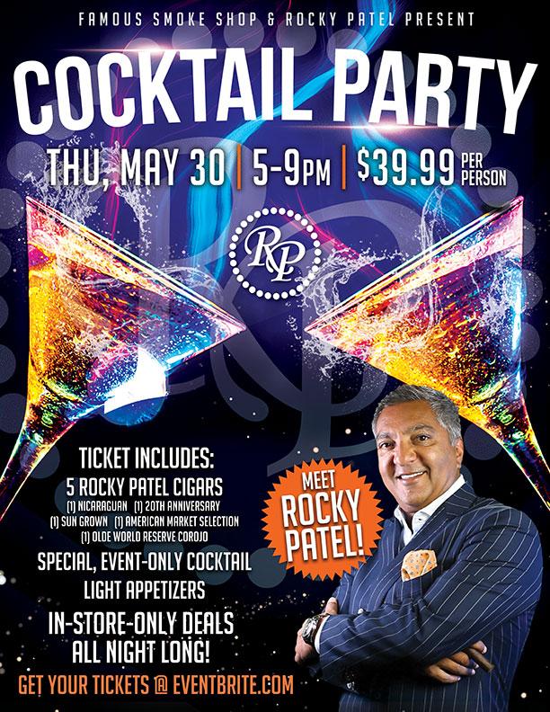 Rocky Patel Cocktail Party