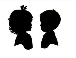 Angelique Kids - Hosting Silhouette Artist, Erik Johnson