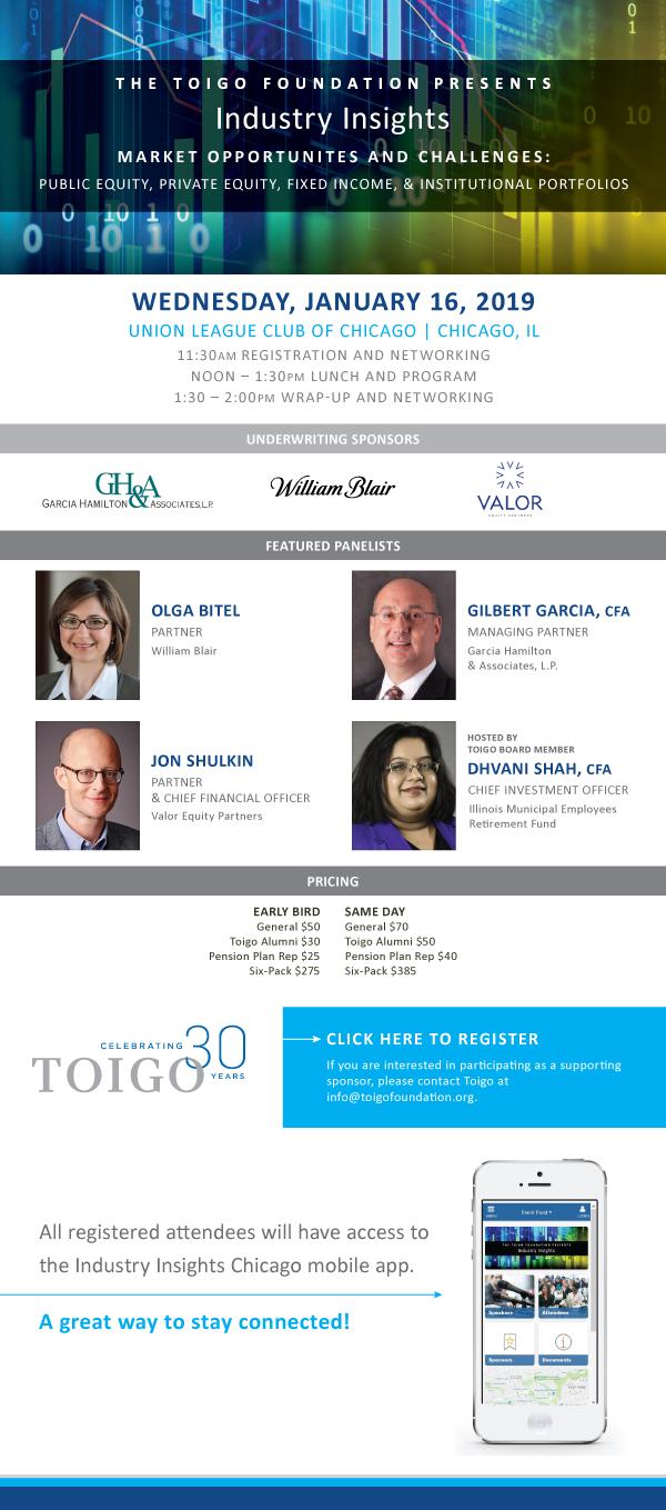 The Toigo Foundation Presents Industry Insights