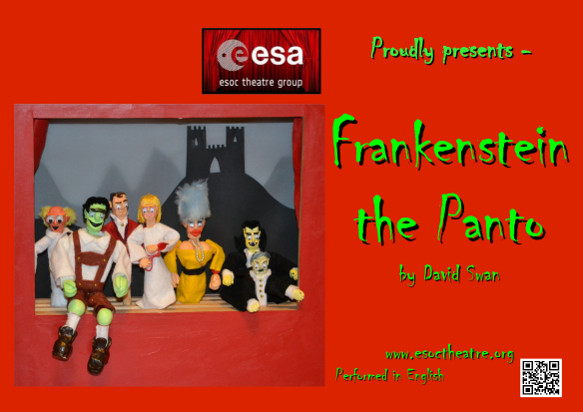 ESOC Theatre Group presents Frankenstein in Panto