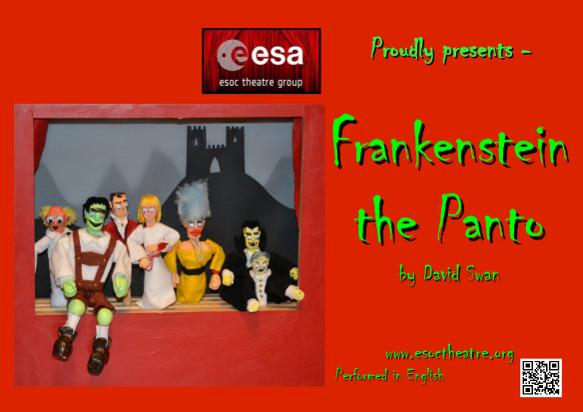 ESOC Theatre Group presents Frankenstein in Panto