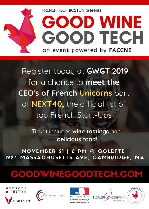 Good Wine Good Tech 2019 - visual