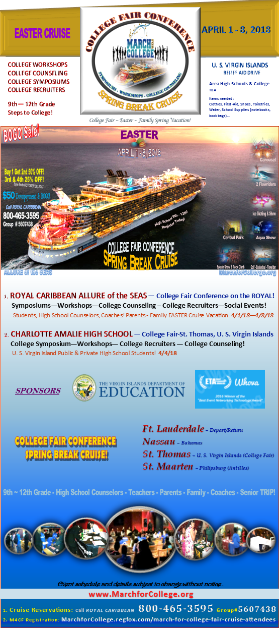 College Fair Conference-Spring Break Cruise