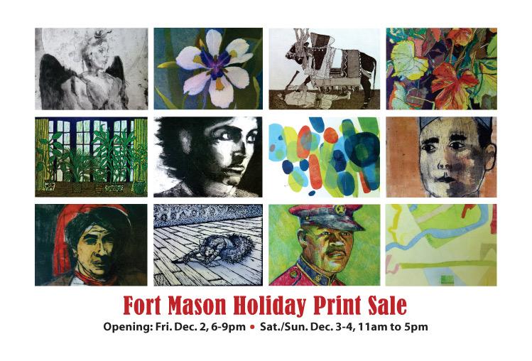 Fort Mason Printmakers Holiday Print Sale 2011