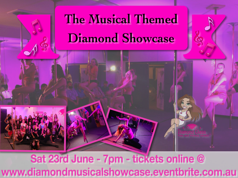 Diamond Class Pole and Fitness Studio  pole dance student showcase