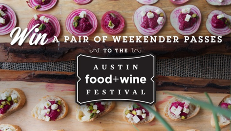 Win Austin Food & Wine Festival tickets