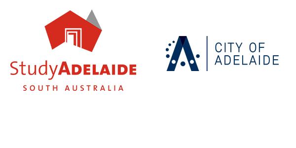 StudyAdelaide Logo and City of Adelaide Logo