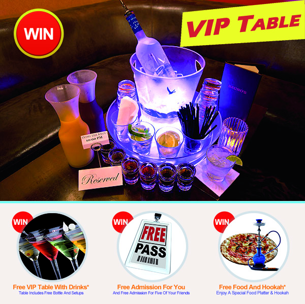 VIP Experience Contest