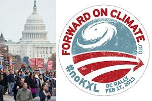Forward on Climate Feb 17: Richmond bus to DC