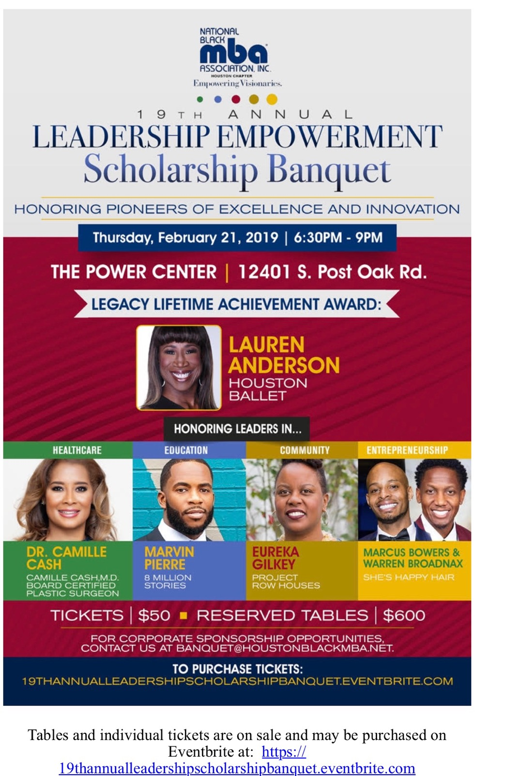 2019 Scholarship Banquet