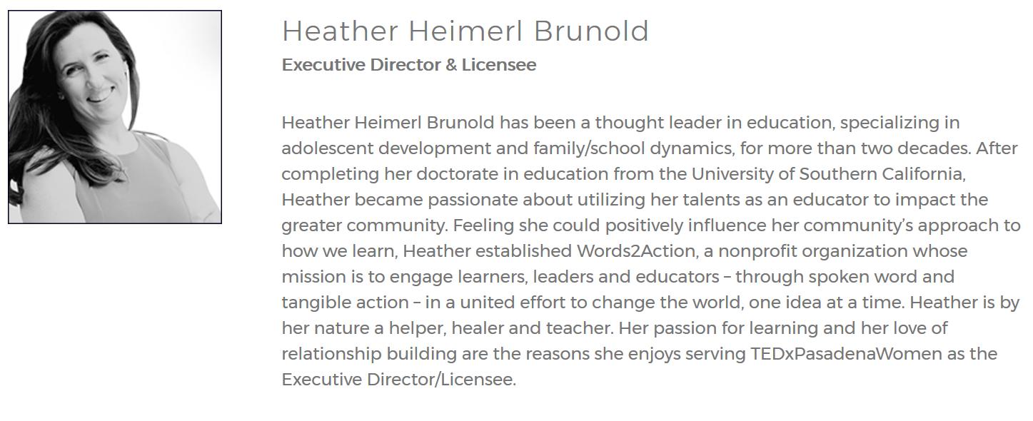 Heather Brunold