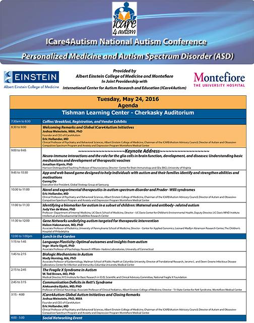 Conference Program Agenda