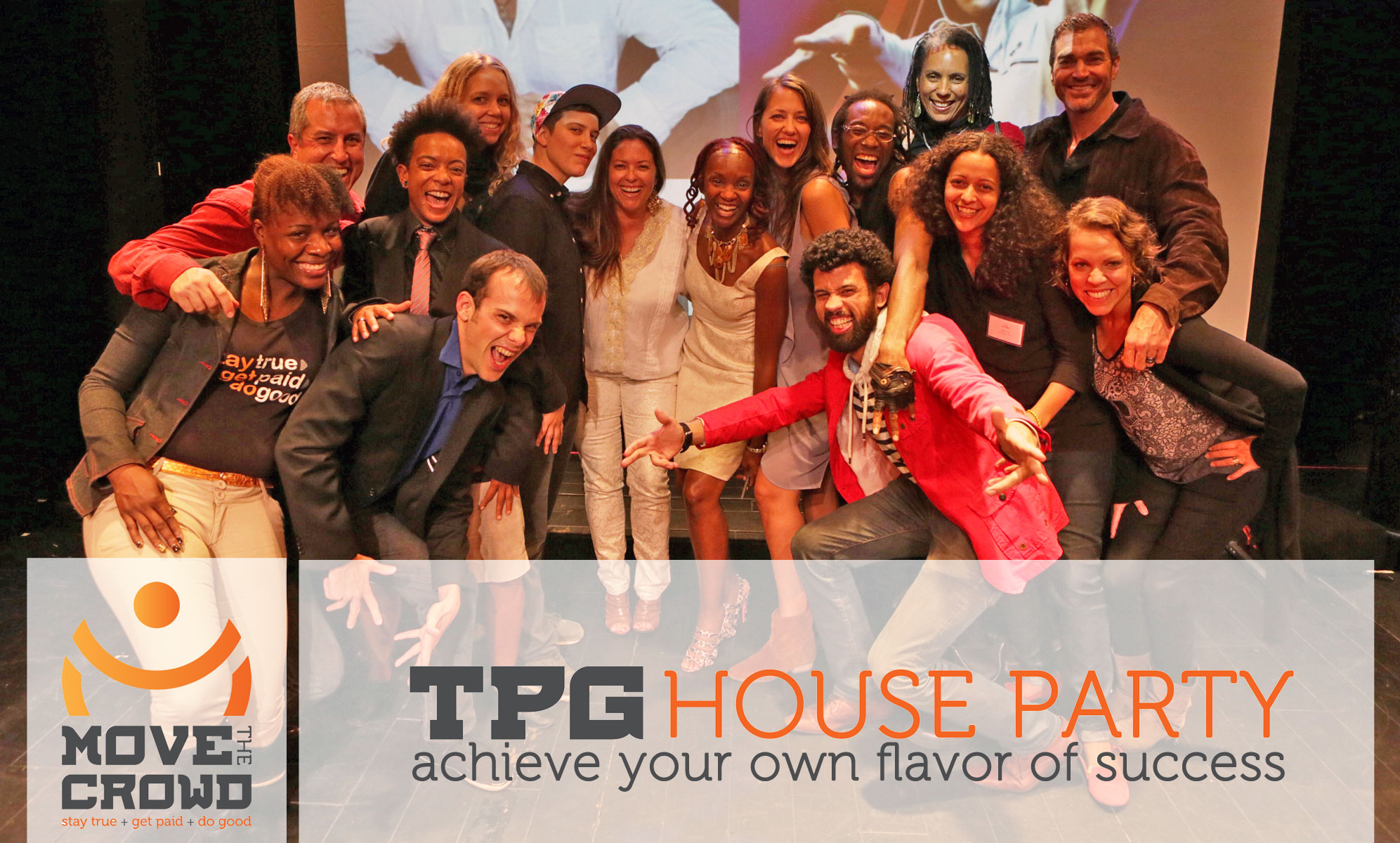 House Party Crowd Getting Their True+Paid+Good On!
