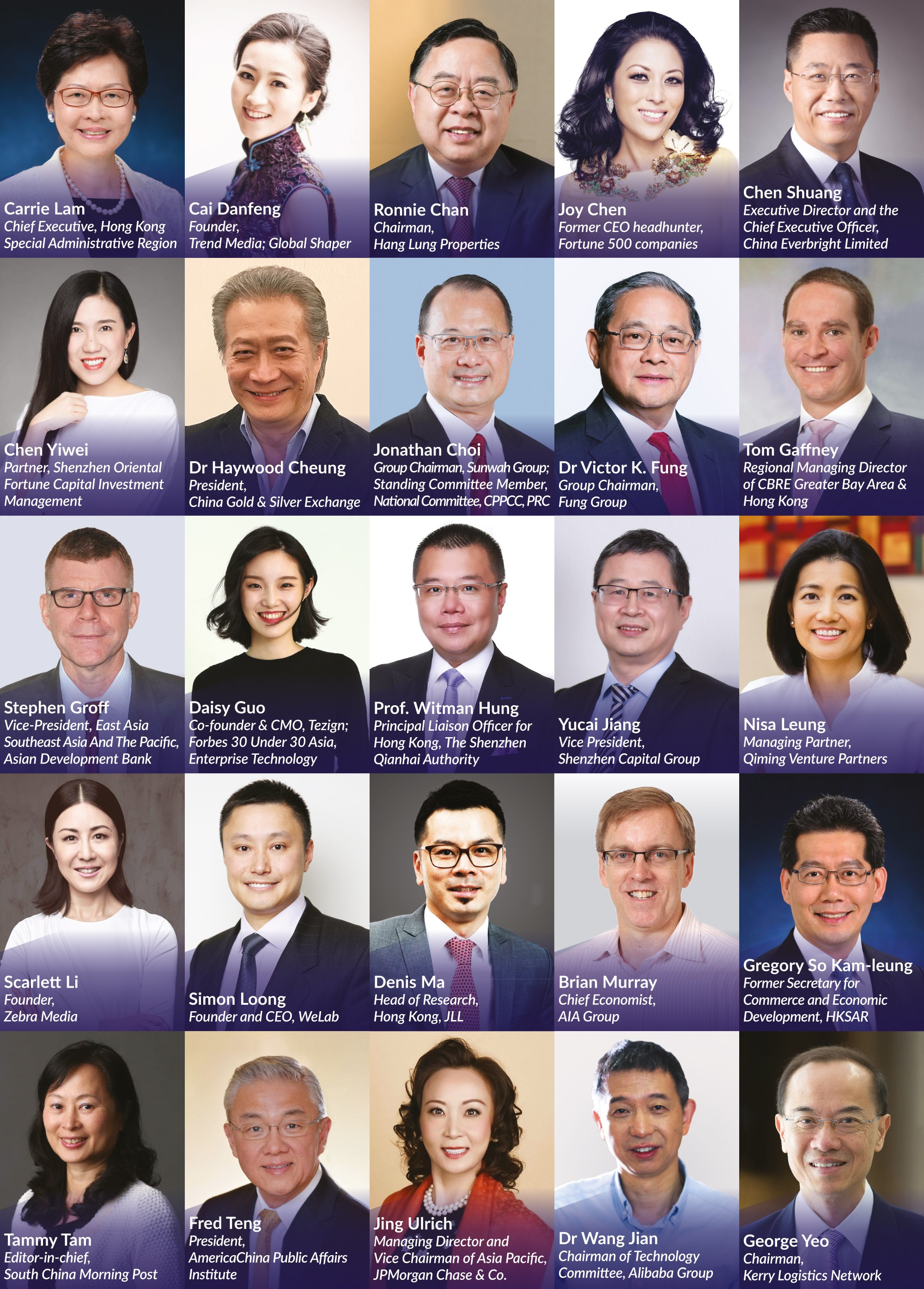 SCMP China Conference February 2019 Speakers Highlight