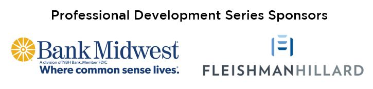 Professional Development Series Sponsors