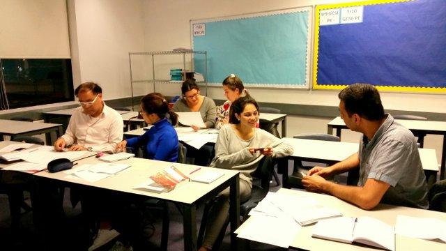 Chinese Mandarin Survival 101 class photo