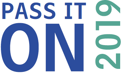 Pass It On 2019 logo