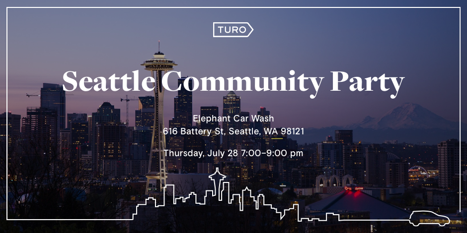 Turo Seattle Community Party