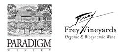 Sponsors Paradigm Winery and Frey Vineyards