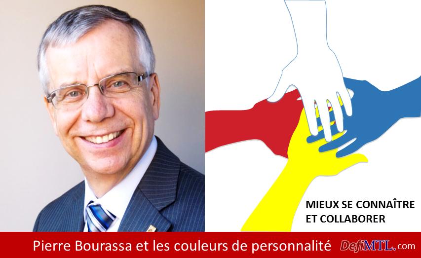 Pierre Bourassa Les couleurs de personnalité