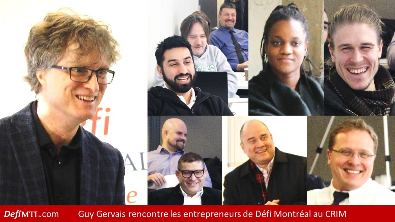 Guy Gervais à Défi Montréal