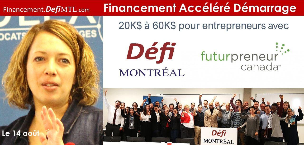 Programme Financement Accéléré Démarrage avec Futurpreneur