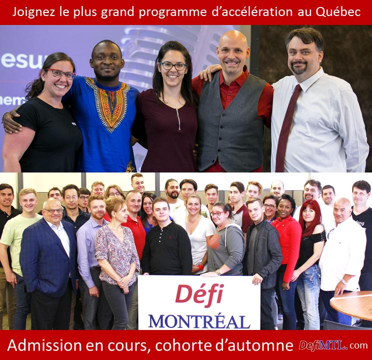 Admission à Défi Montréal
