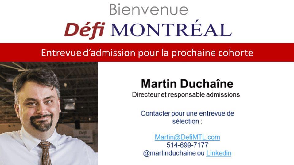 Bienvenue Défi Montréal