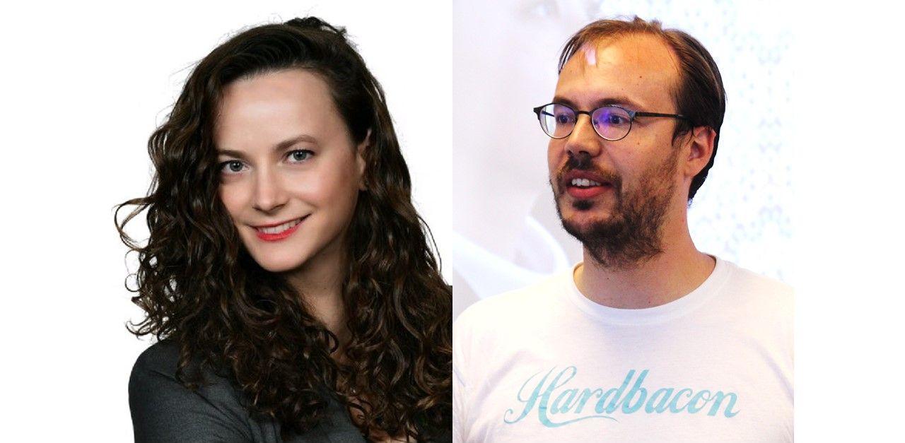 Olga Golubeva et Julien Brault
