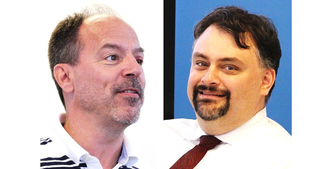 Roland Léger et Martin Duchaine