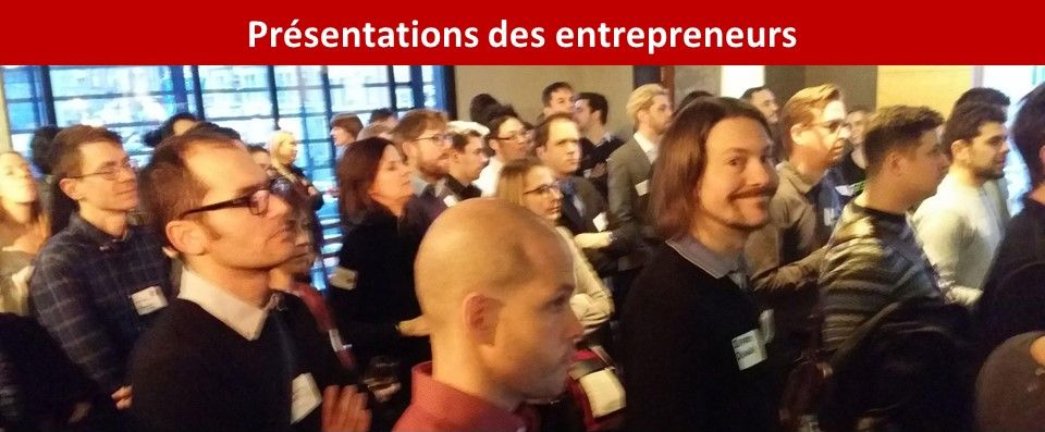 Concours Startup Elevator Pitchs