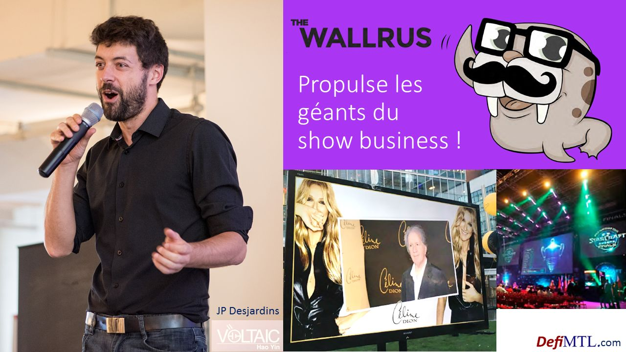 JP Desjardins - cofondateur The WallRus