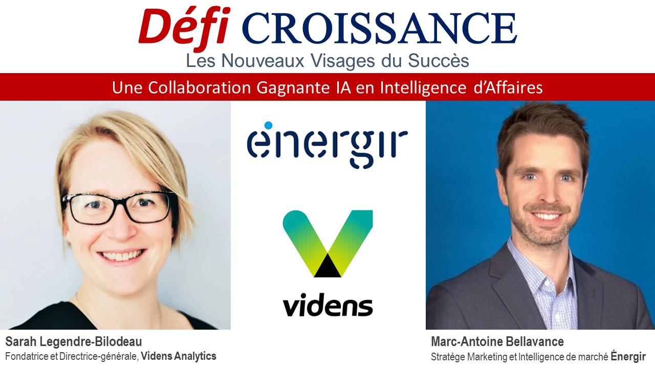Défi Croissance Numérique - Énergir et Videns